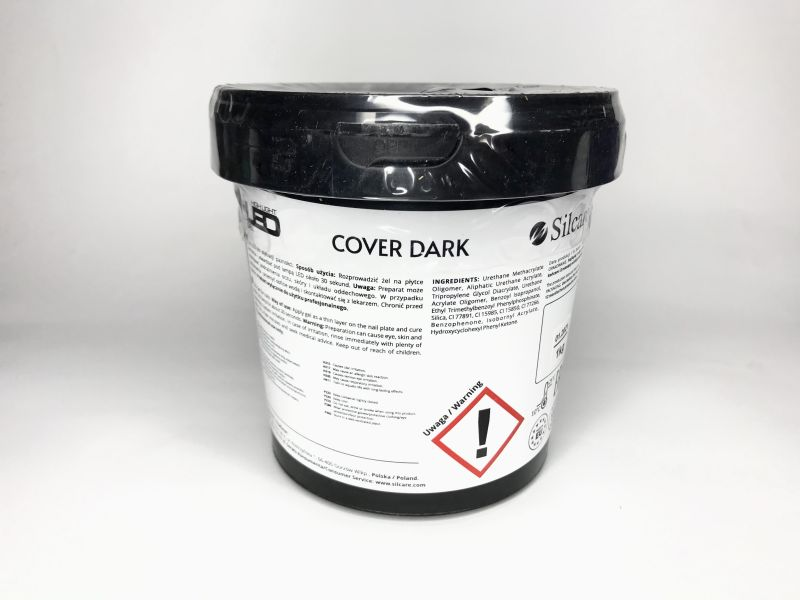 Гель Silcare Cover Dark, 1кг