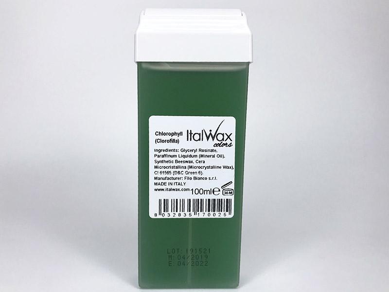 Воск Italwax кассетный Хлорофилл